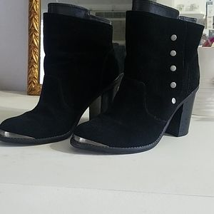 Black Leather (Suede) Boots